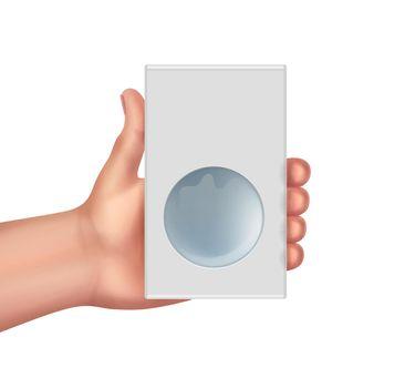 Hand hold box