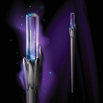 Vector magic wand