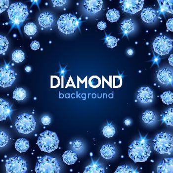 Gem Diamond Background