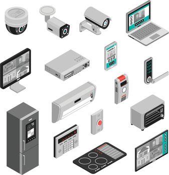 Isometric Smart Home Set