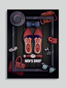 Men Accessories Poster