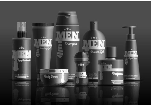 Mens Cosmetic Series Realistic Composition