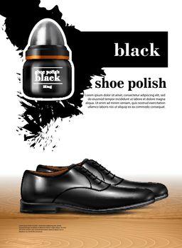 Men Shoes Realistic Set