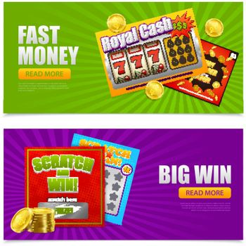 Lottery Online Banners