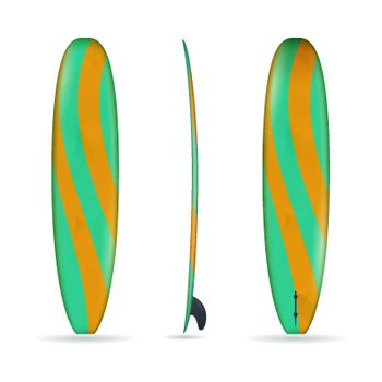 Longboard With Three Sides