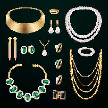 Jewelry Accessories Set