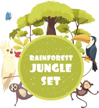 Jungle Decorative Frame