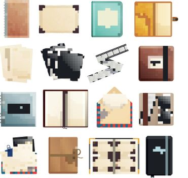Scrapbook Notepad Diary Collection