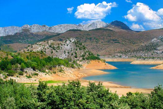 Barrios de Luna Water Reservoir, Castile and Leon, Spain