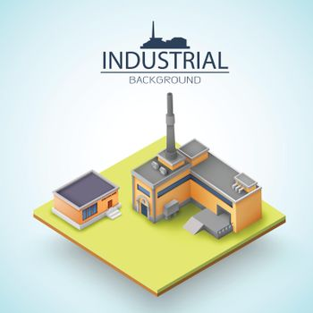 Manufacturing Buildings Background
