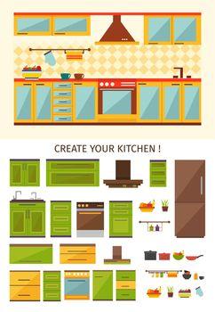 Interior Kitchen Creation