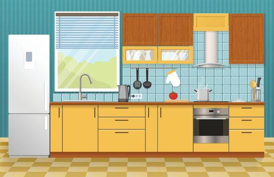 Kitchen Interior Concept