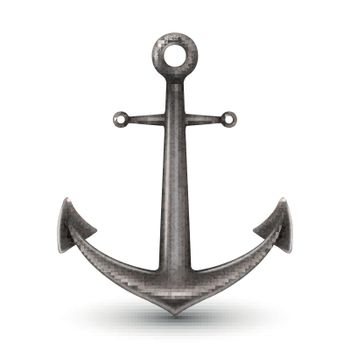 Isolated Realistic Anchor