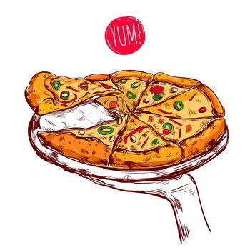 Italian Cuisine Concept