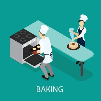 Isometric Baking Concept