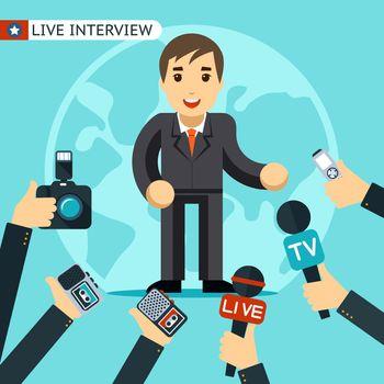 Interview illustration