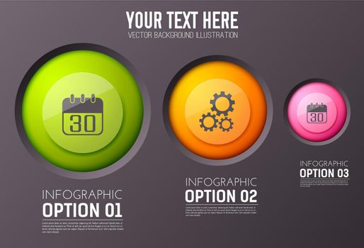 Business Web Infographic Concept