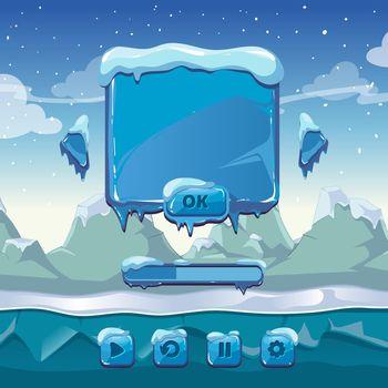 Main winter game menu