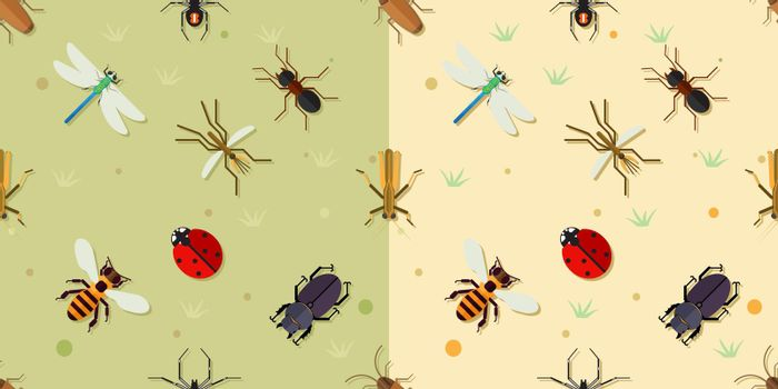 Sealmess insects pattern