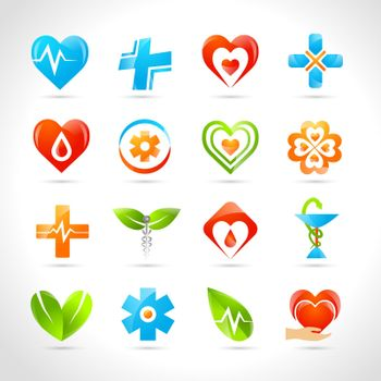 Medical Logo Icons