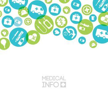 Medical Treatment Light Background