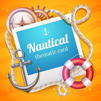 Marine Card Template