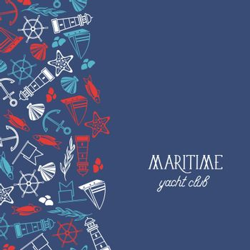 Maritime Yacht Club Poster