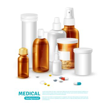 Medical Realistic Background