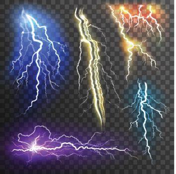 Lightning Transparent Set
