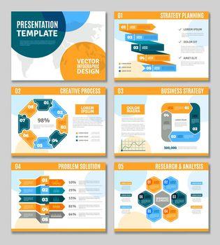 Infographic Presentation Set