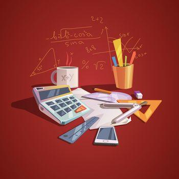 Math science concept