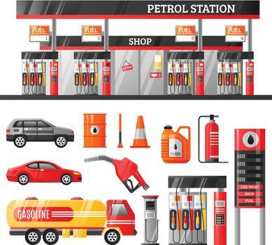 Petrol Station Design Concept
