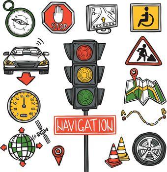 Navigation Icons Sketch
