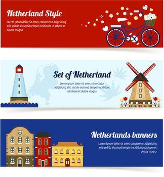 Netherlands Horizontal Banners