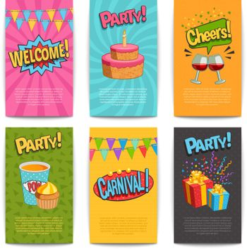 Party Comic Posters