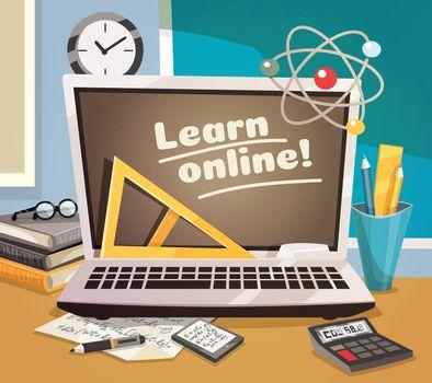 Online Learning Design Concept