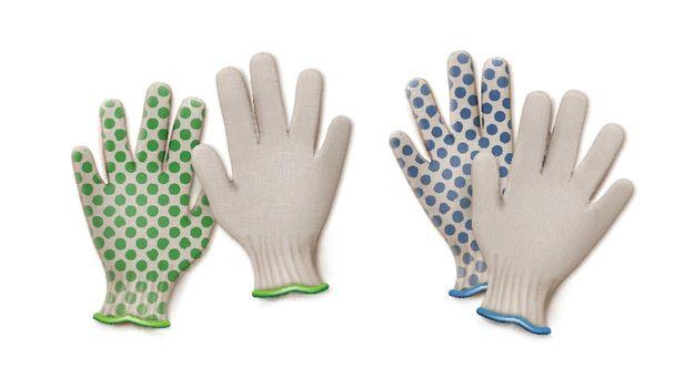 Vector gardening gloves