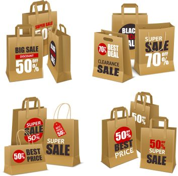 Paper Shopping Sale Bags