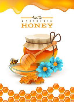 Natural Honey Poster