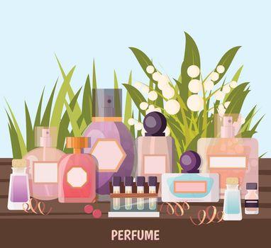 Perfume Shop Background