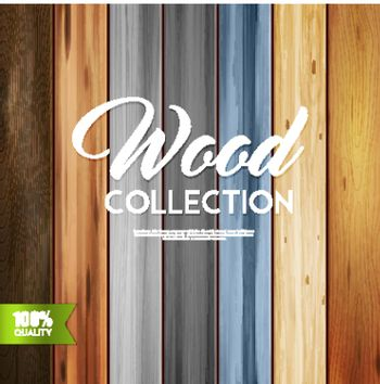 Ornamental Wood Collection Background