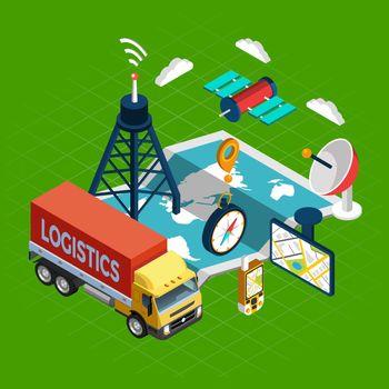 Navigation Isometric Concept