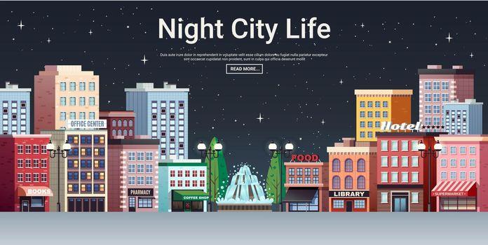 Night City Life Town Center