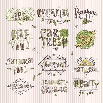 Natural food label