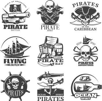Pirates Emblem Set