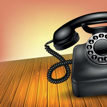 Old Telephone Concept