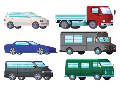 Orthogonal Business Cars Set