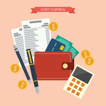 Cost control concept