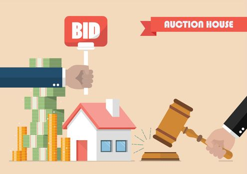 Buying selling house from auction