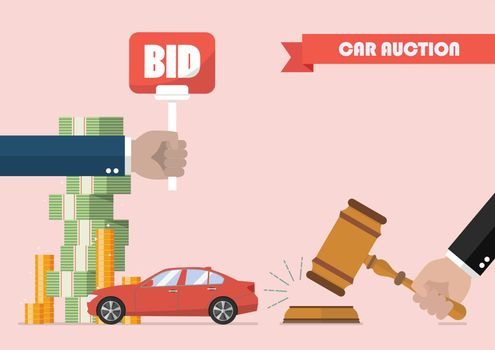 Buying selling car from auction